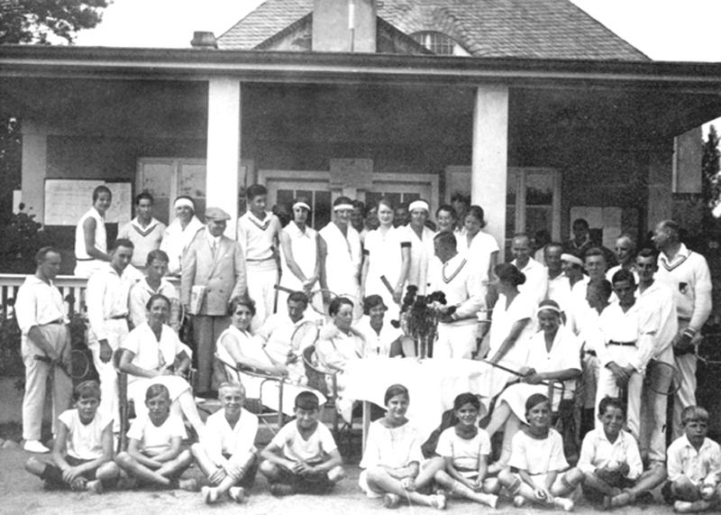 Vereinsbild aus dem Jahr 1929