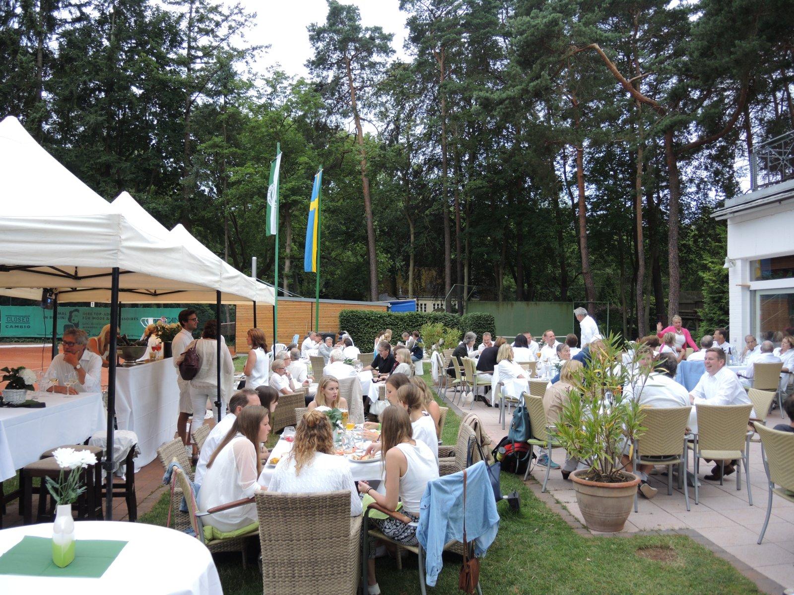 Sommerfest mit unseren schwedischen Freunden