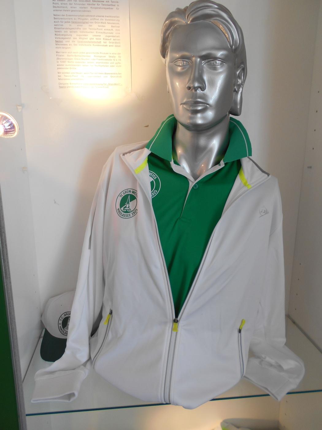 Dunlop Trainingsjacke und Polo