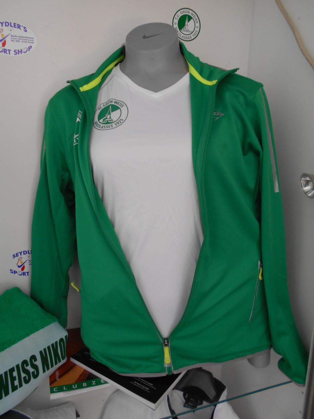 Dunlop Trainingsjacke und T-Shirt